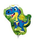 Mini folie ballon Dino fun