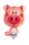 Mini folie ballon Pig