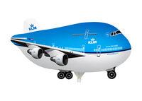Mini folie ballon KLM