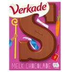 Verkade chocoladeletter melk klein 65 gr