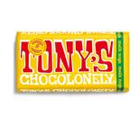 Tony's Chocolonely reep melkchocolade noga 180 gr