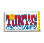 Tony's Chocolonely reep witte chocolade 180 gr