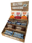 Healthy snacking display