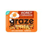 Graze honey cinnamon bar 52 gr