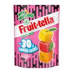 Fruittella fruit&drop -30% suiker zakj 120 gr