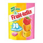 Fruittella summer fruit -30% suiker zakje 120 gr