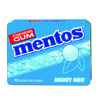 Mentos gum mighty mint blister