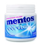 Mentos gum white sweetmint bottle 70 stukjes