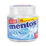 Mentos gum white sweetmint bottle 75 stukjes