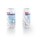 Mentos gum white always sweet mint potje 30 stukjes 31.8 gr