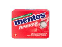 Mentos gum breeze strawberry blister