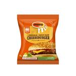 Mora broodje cheeseburger 130 gr