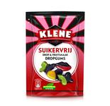 Klene suikervrij drop & fruitsmaak dropgums zakje 105 gr