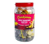 Candyman nougat bananendip knotsen