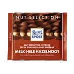 Ritter Sport melk hele hazelnoot 100 gr