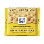 Ritter Sport wit hele hazelnoot 100 gr