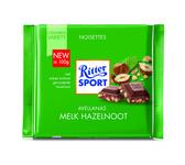Ritter Sport melk stukjes hazelnoot 100 gr