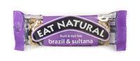Eat natural paranoot & sultanarozijn met pinda's amandelen 50 gr