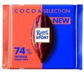 Ritter Sport 74% peru krachtig 100 gr
