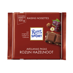 Ritter Sport rozijn hazelnoot 100 gr