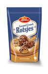 Lonka caramel crunch rotsjes zak 160 gr