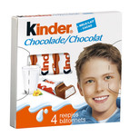 Kinder chocolade T4