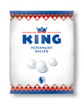 King pepermuntballen zak 250 gr