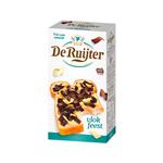 De Ruijter chocolade vlokfeest puur & wit 300 gr