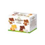 De Ruijter kleintjes smeerbaar 8 x 15 gr (2 appelstroop. 2 chocoladepasta. 2 honing. 2 pindakaas)