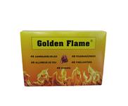 Golden Flame witte aanmaakblokjes 48 stuks