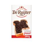 De Ruijter chocoladehagelslag puur 380 gr