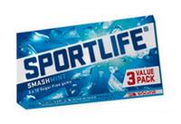 Sportlife smashmint 16 x 3 pack