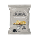 Food2smile popped chips salt & pepper 25 gr