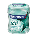 Stimorol ice intense mint bottle 70 stukjes