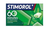 Stimorol 60 minutes spearmint doosje 22 gr 10 stukjes