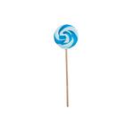 Spiraallolly blauw-wit nr.1 45 gr