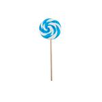 Spiraallolly blauw-wit nr.2 80 gr