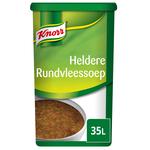 Knorr heldere rundvleessoep 35ltr.