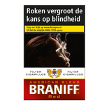 Braniff filter cigar red 20