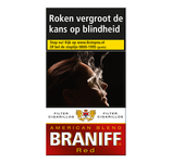 Braniff filter cigar red 12