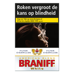 Braniff filter cigarillos white 17