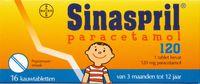 Sinaspril paracetamol '120' 10st.