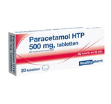 Healthy paracetamol 500mg. 20st.