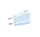 Green Mouse USB oplader voor iphone en android white 1000mA