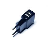 Green Mouse Dual USB oplader 220 V zwart