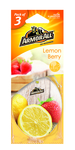 ArmorAll luchtverfrisser kaart citroen aardbei 3pack