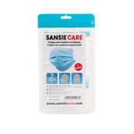 Sansie care 3-laags niet medisch mondkapje per stuk verpakt