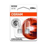 Osram W5W - 5w - W2.1x9.5D - BL -
