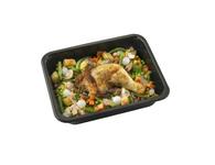 Dinnerland Kipcarbonade. groentemix en gebakken aardappelblokjes 470gr.