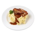 Dinnerland speklapjes in mosterdjus met zuurkoolstamppot 470 gr